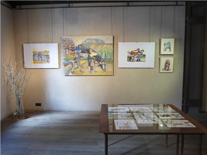Олена Звягінцева ART 14 gallery